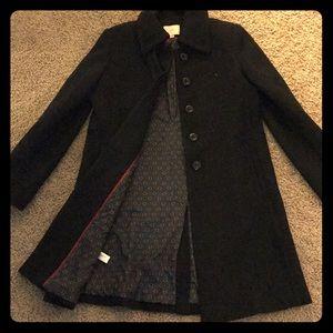 LOFT collared pea coat